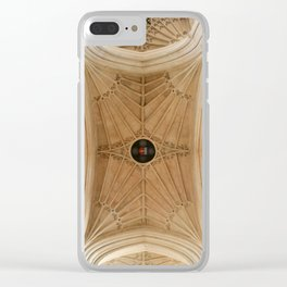 Abbey Ceiling Clear iPhone Case