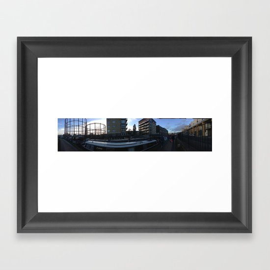 EASTEND Framed Art Print