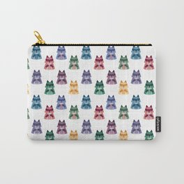 racoon with milk pattern Carry-All Pouch