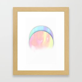 Ice Hot Framed Art Print