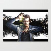 stiles Canvas Prints featuring Void Stiles by Hosio