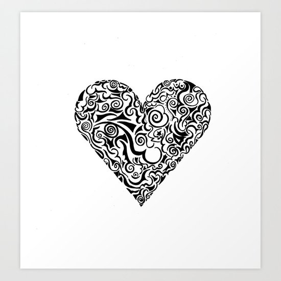 It Don't Have To Be Valentines for Me To Love You Art Print