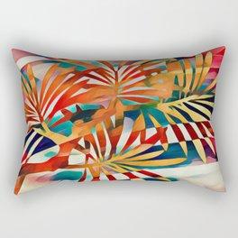 Tropical Sunset Rectangular Pillow