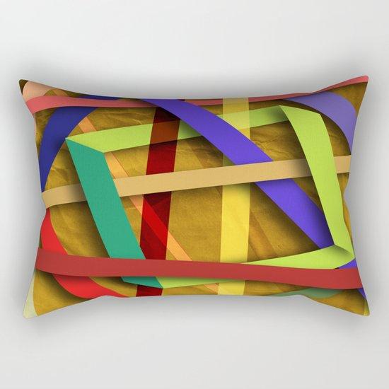 Abstract #356 Rectangular Pillow