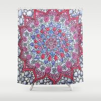 romance Shower Curtains featuring Romance by Fiona Fieldhouse