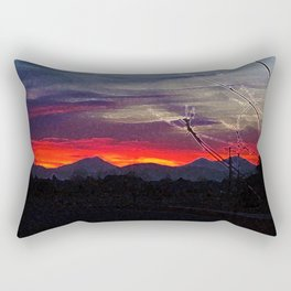 Darkness Ascending Rectangular Pillow