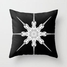 Ninja Star 3 Throw Pillow