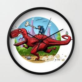 Devil Dinosaur and Moon Boy Wall Clock
