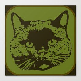 cathead 2 Canvas Print