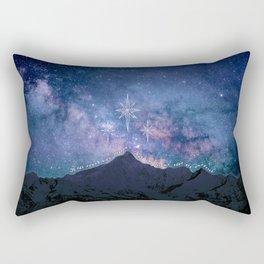 To the stars that listen Rectangular Pillow