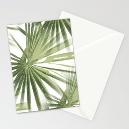 Tropical Beach Palm Vector Stationery Cards