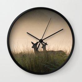 Richmond Park-97, September 2015 Wall Clock