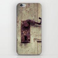door iPhone & iPod Skins featuring door by Deviens