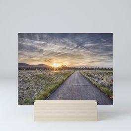 Sunset at Eagle Crest Mini Art Print