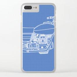 Moto Guzzi Clear iPhone Case