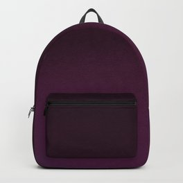 Burgundy purple hand painted watercolor ombre Backpack
