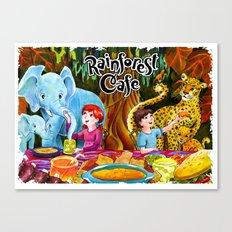 Rainforest Cafe Canvas Print