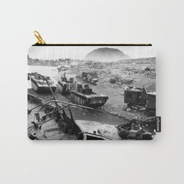 Iwo Jima Beach Painting Carry-All Pouch