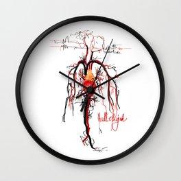 Hallelujah  Wall Clock