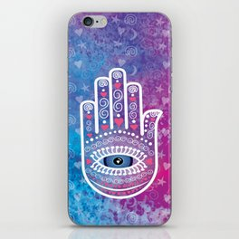 Hamsa Prayer iPhone Skin