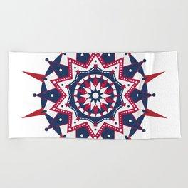 American Colours Beach Towel