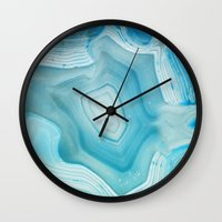 minerals Wall Clocks featuring THE BEAUTY OF MINERALS 3 by Catspaws