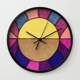 The Sun and the Moon Wall Clock