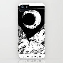 XVIII The Moon iPhone Case