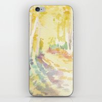 forrest iPhone & iPod Skins featuring Forrest by Susie McColgan