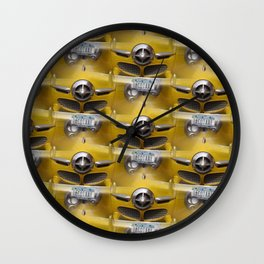 Classic Studebaker Grille Wall Clock