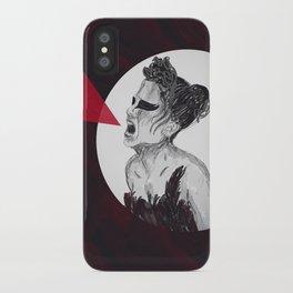 Black Swan IV iPhone Case
