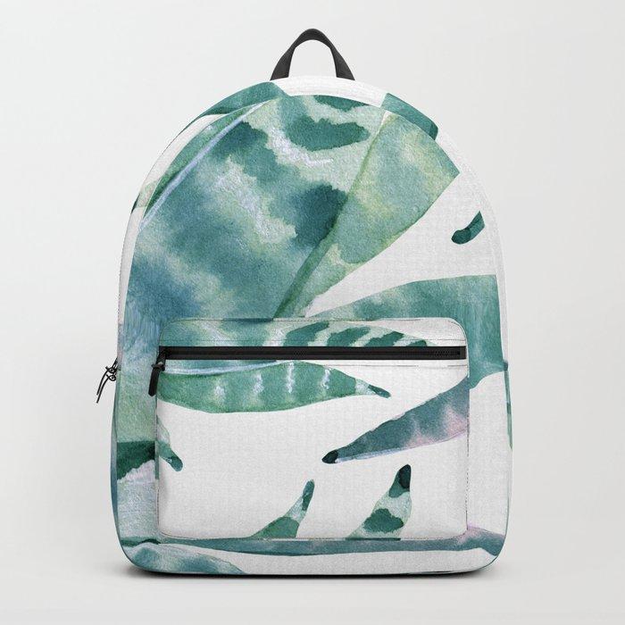 Desert Succulents Backpack