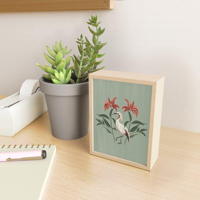 Tropical Bird  Framed Mini Art Print