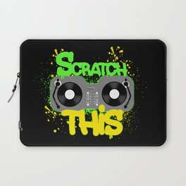 Scratch This Laptop Sleeve