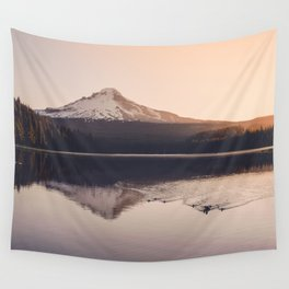Wild Mountain Sunrise Wall Tapestry