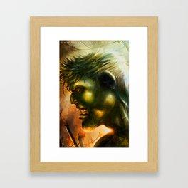 HULK I Framed Art Print