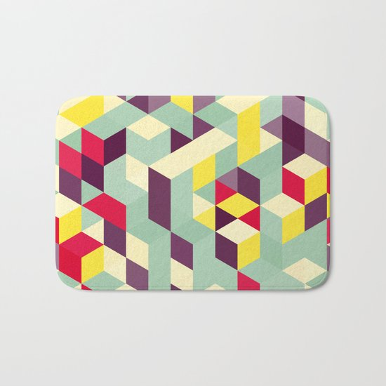 Lines stairs Bath Mat
