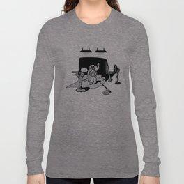1969: Moonwalk hoax Long Sleeve T-shirt
