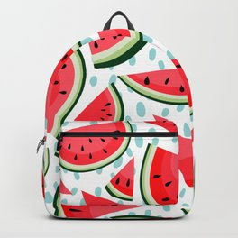 Tropical Red Watermelon Fruit Backpack