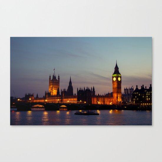 London | Big Ben Canvas Print