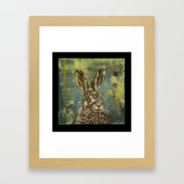 Rabbit Framed Art Print