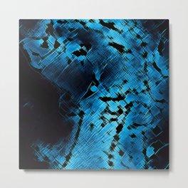 Blue Flow by FreddiJr Metal Print