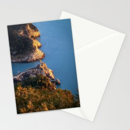 Magical view of Portovenere, Italy Stationery Cards