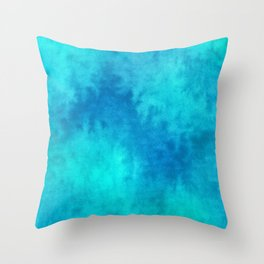 Dreaming in Blue 11 Throw Pillow
