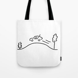 ralley rally car racing offroad Tote Bag