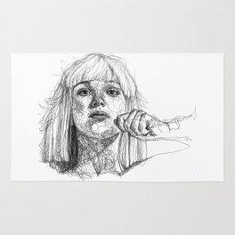Sia Scribbles (Pen Art) Rug