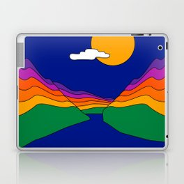 Rainbow Ravine Laptop & iPad Skin