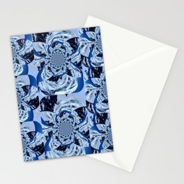 Mountain Fractal Stationery Cards