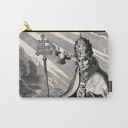 Saint Gregory the Great Carry-All Pouch
