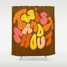 Twist and Shout Shower Curtain